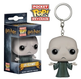 Harry Potter: Lord Voldemort Llavero Funko POP