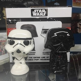 Star Wars: Salero y Pimentero Star Wars Darth Vader y Storm Tooper
