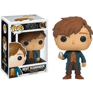 Animales Fantasticos - Figura Funko POP Newt Scamander With Egg