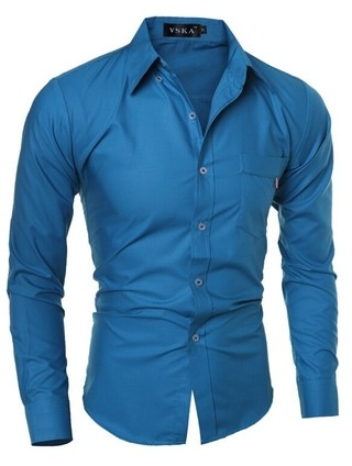 Camisa Fashion Sport Chic - Sólida - en 4 Colores