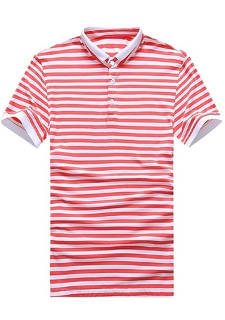Fashion Sailor Polo Shirt - Striped - in 4 Colors