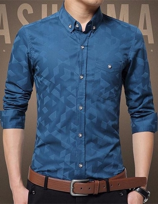 Camisa Social/Casual Moderna - Fashion Shine - en 6 Colores