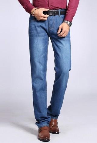 Jeans Clásico Fashion con Detalles - Recto