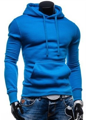 Sport Coat in vibrant colors - with Hood - Blue