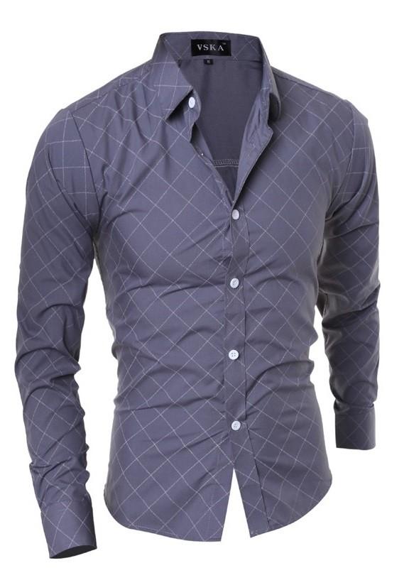 Camisa casual a cuadros estilo cl sico para toda ocasi n for Cuadros estilo clasico