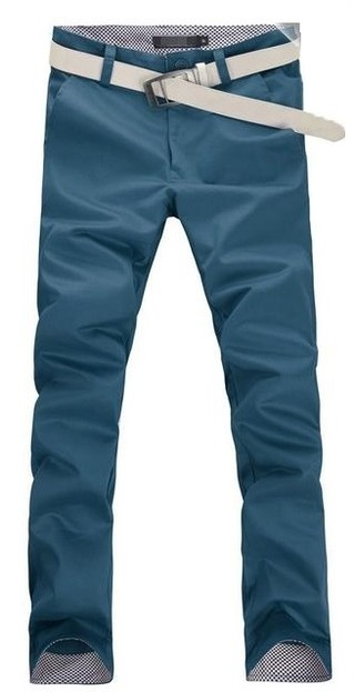 Casual Slim Fit Pants Modern Style - Details on the Waist - in 9 Colors