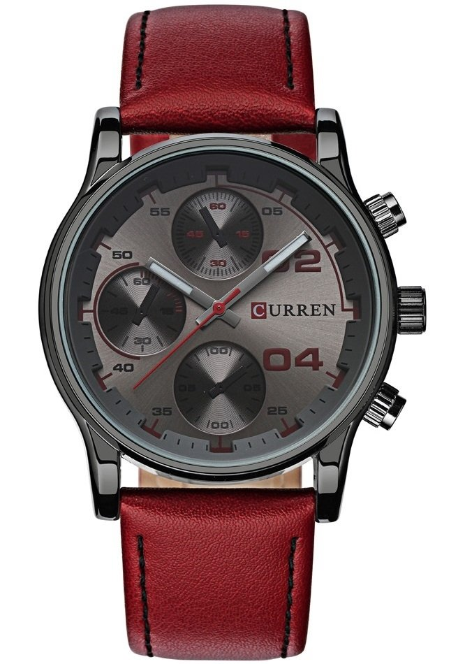 Reloj Fashion CURREN 8207 - Estilo Sport Casual - en 5 Colores