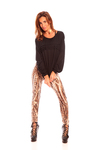 Calzas Leggings Estampadas Seda 054002