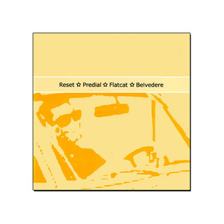 Four Lessons To Drive - SPLIT Reset, Predial, Flatcat, Belvedere [CD]