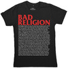 Bad Religion - Song List