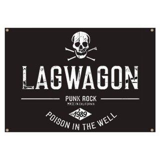 Lagwagon - Poison In The Well [BANDEIRA] + Adesivo