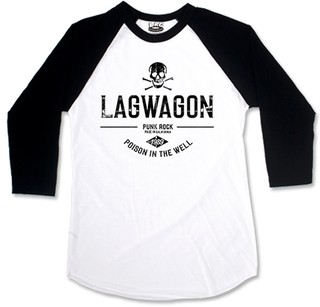 Lagwagon - Poison In The Well [Raglan 3/4] + Adesivo