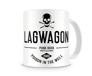 Lagwagon - Poison In The Well [Caneca] + Adesivo