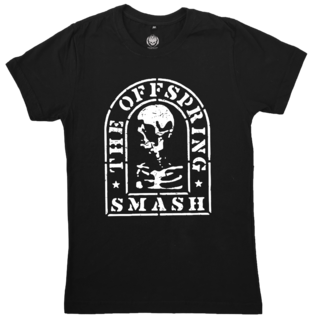 THE OFFSPRING - Smash Tombstone + Adesivo [Camiseta]