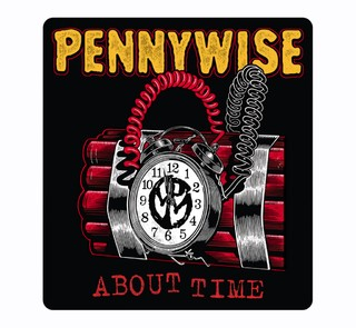 Pennywise - About Time [Adesivo]