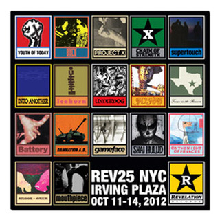 REV25 NYC - Irving Plaza Oct 11-14, 2012 [LP]
