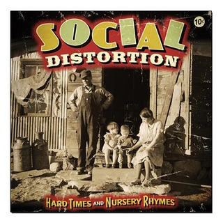 Social Distortion - Hard Times and Nursery Rhymes [2xLPs Marrom + CD bonus]