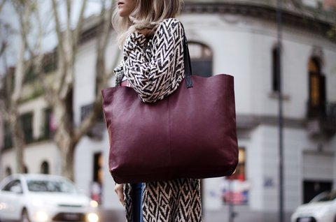 MINI CHOP BORDO - Bevilacqua Bags