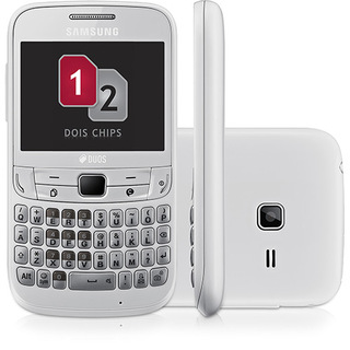 Samsung S3572 Chat 357 Branco Dual Chip Wifi Mp3 Radio FM