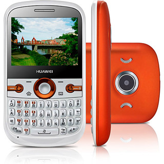 Huawei G6620 Branco Dual Chip Qwerty Cam 1.3MP MP3 Bluetooth