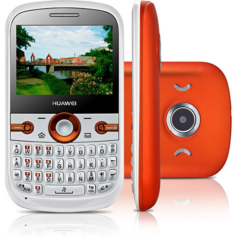Huawei G6620 Branco Dual Chip Qwerty Cam 1.3MP MP3 Bluetooth I Vitrine