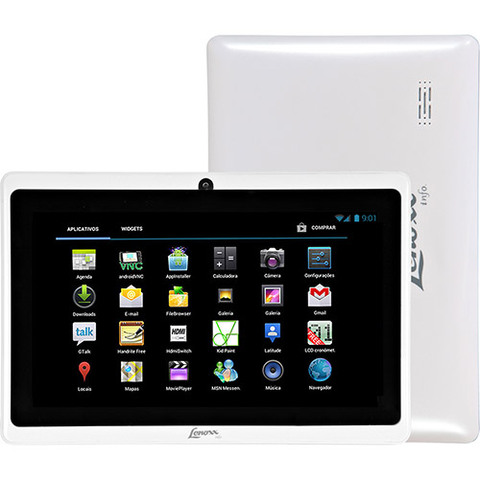 Tablet Lenoxx TB55 Branco com Android 4.0 WiFi Tela 7