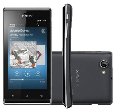 Sony Xperia J St26a Cam 5mp Android 4.1 Memoria Interna 4gb