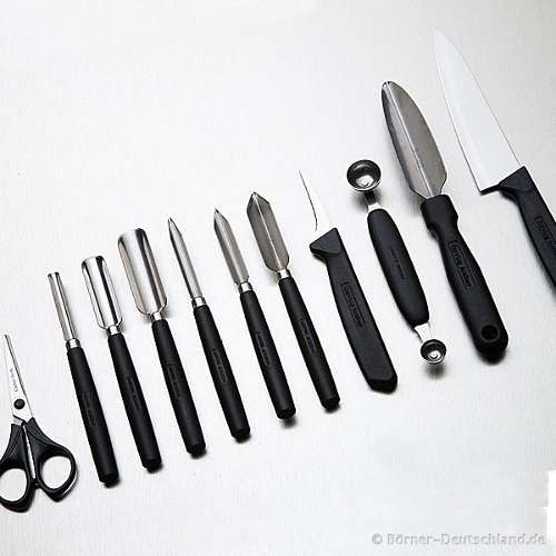 Set de gubias para tallado carving set - Cuchillo para fruta ...