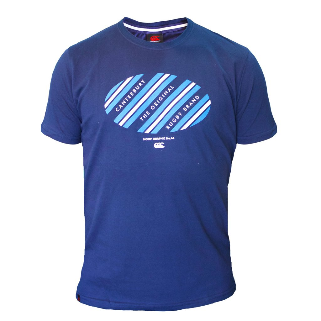 Remera Canterbury Blue Ball Tee