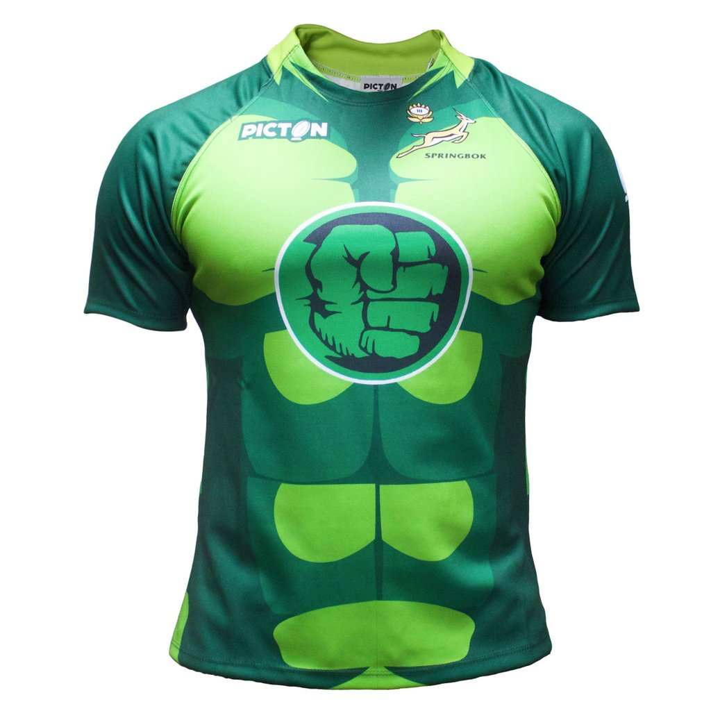 Camiseta de Rugby Picton Hulk South Africa Niño