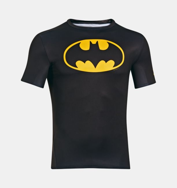 Termica Manga Corta Under Armour Alter Ego Compression Bataman - comprar online