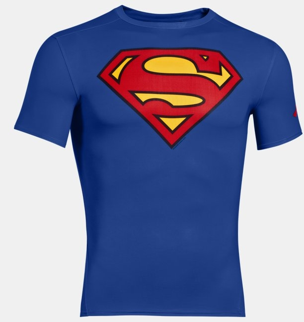 Termica Manga Corta Under Armour Alter Ego Compression Superman