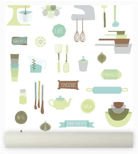 Azulejos comprar en enamoradadelmuro - Empapelar azulejos cocina ...