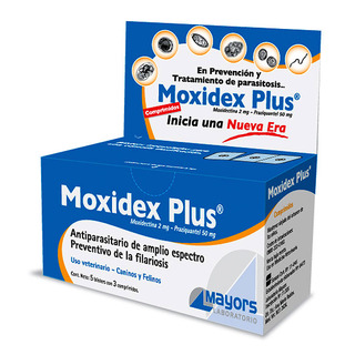 Moxidex Plus comprimidos para perros y gatos
