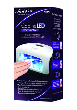 Cabine Led Profissional First Kiss