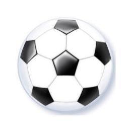 Bola de Futebol - Balão Metalizado - 9