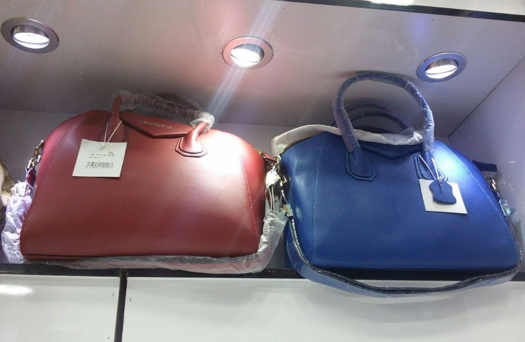 Bolsa De Couro Legitimo Azul : Bolsa antigona azul couro leg?timo premium
