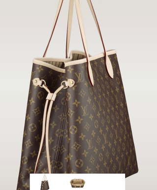 Bolsa Neverfull MM Monogram Canvas - couro Premium na internet