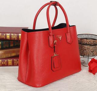 ... Bolsa Saffiano Double Tote Vermelha - couro legítimo Premium na  internet ... a4c3113894