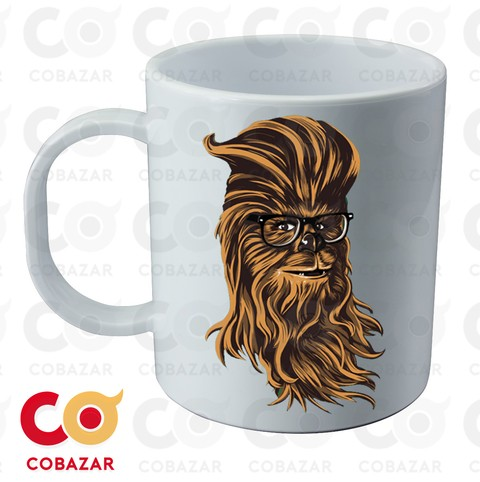TAZA SW CHEWBACCA HIPSTER