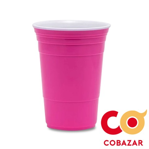 VASO IRROMPIBLE ONLY CUPS ROSA
