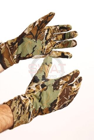 Guantes de Caza Camuflados - Forest Leather