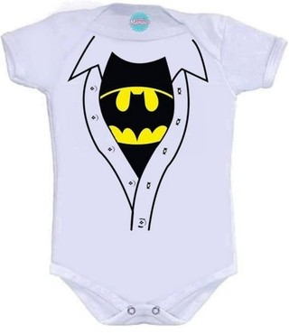 Body Infantil - Batman  Pronta Entrega