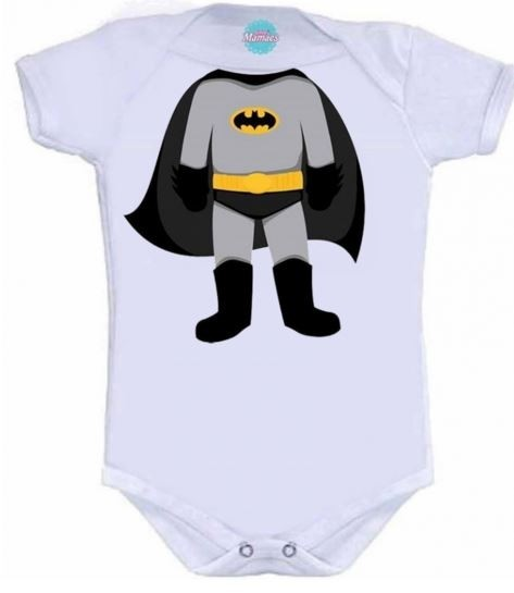 Body Infantil Batman Pronta Entrega