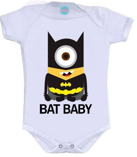 Body Infantil - Bat Baby  Pronta Entrega