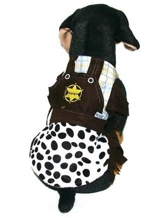 Fantasia Pet- Sheriff Pronta Entrega