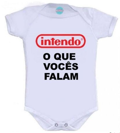 Body Infantil-Intendo.  Pronta Entrega