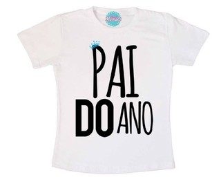 Camiseta Papai - Pai Do Ano