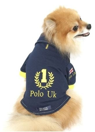 Camisa Pet Polo Uk Brasil  #1 Pronta Entrega