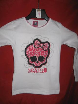 Blusa infantil Monster High. Pronta Entrega!